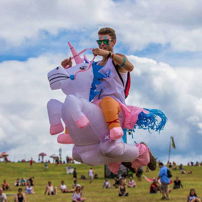 Inflatable Unicorn Costume for Kids & Adults - UnicornsAreAwesome