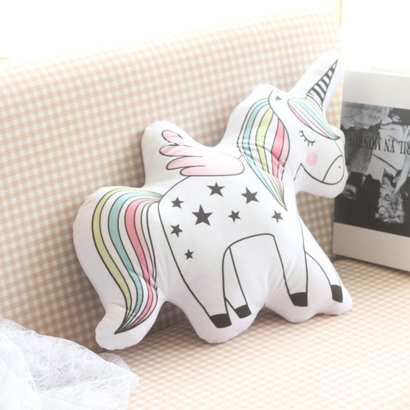 Plush Unicorn Pillow - UnicornsAreAwesome