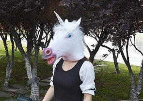 Unicorn Head Mask - UnicornsAreAwesome