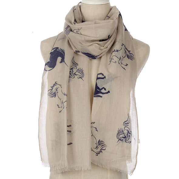 Unicorn Lover's Scarf - UnicornsAreAwesome