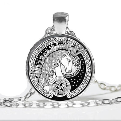 Unicorn Charm Necklace - UnicornsAreAwesome