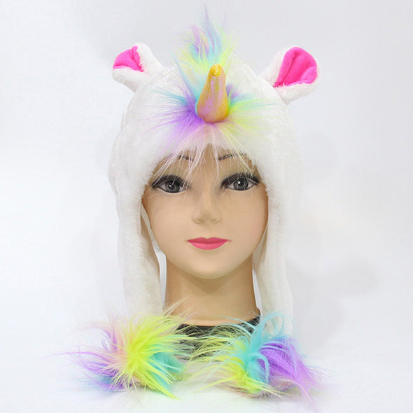Plush Unicorn Hood - UnicornsAreAwesome