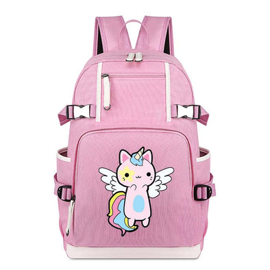 Pink Unicorn Backpack - UnicornsAreAwesome
