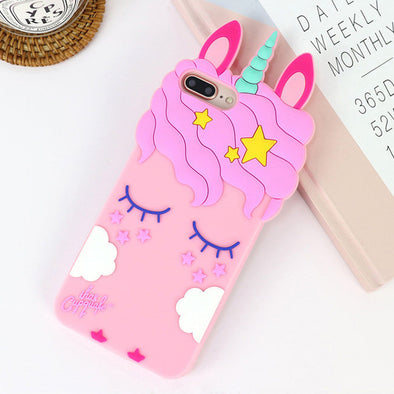 Horn and Ears Unicorn iPhone Case - UnicornsAreAwesome