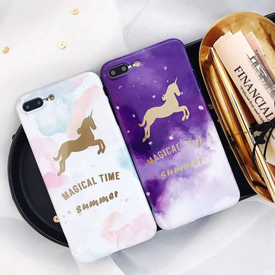 Magical Time iPhone Case - UnicornsAreAwesome