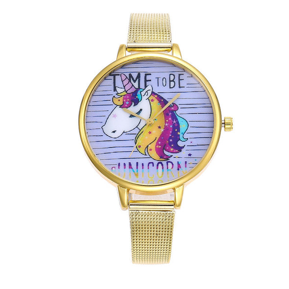 """Time To Be A Unicorn"" Watch - UnicornsAreAwesome"