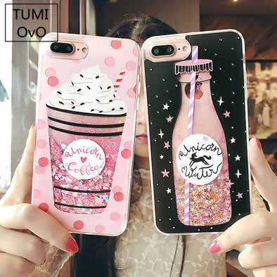 Unicorn Drink iPhone Case - UnicornsAreAwesome