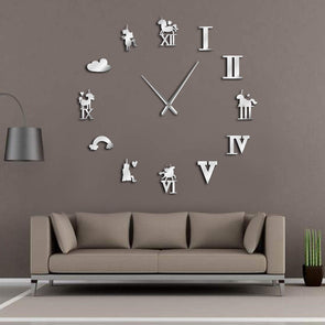 Unicorn Wall Clock - Limited Edition - UnicornsAreAwesome