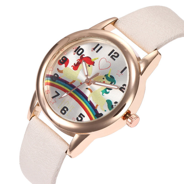 Unicorn Over A Rainbow Watch - UnicornsAreAwesome