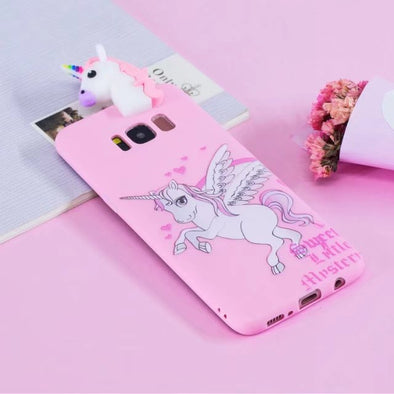 save off 35b84 5362e 3D Unicorn Phone Case for Samsung Galaxy -