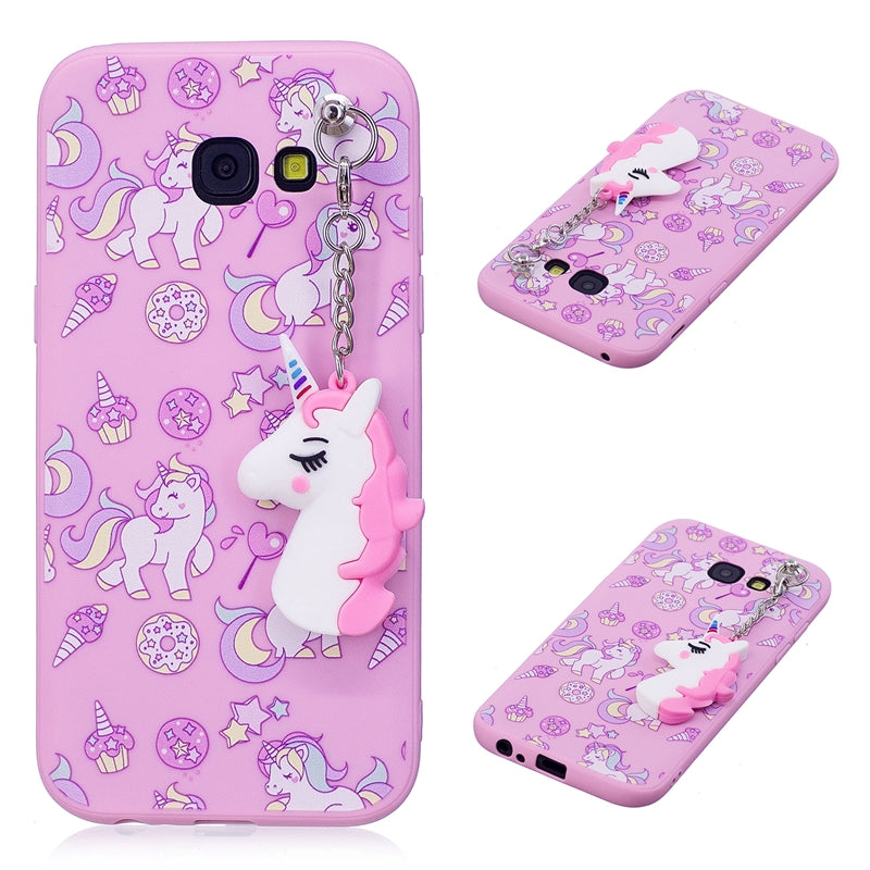 save off c8138 9a712 3D Unicorn Phone Case for Samsung Galaxy -