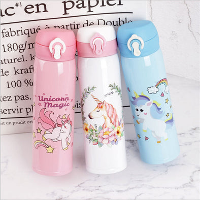 Unicorn Stainless Steel Vacuum Water Bottle - UnicornsAreAwesome