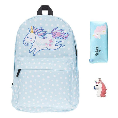 3-Piece Back To School Backpack Set - UnicornsAreAwesome