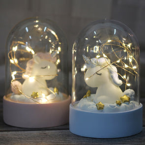 Unicorn Landscape Night Light - UnicornsAreAwesome