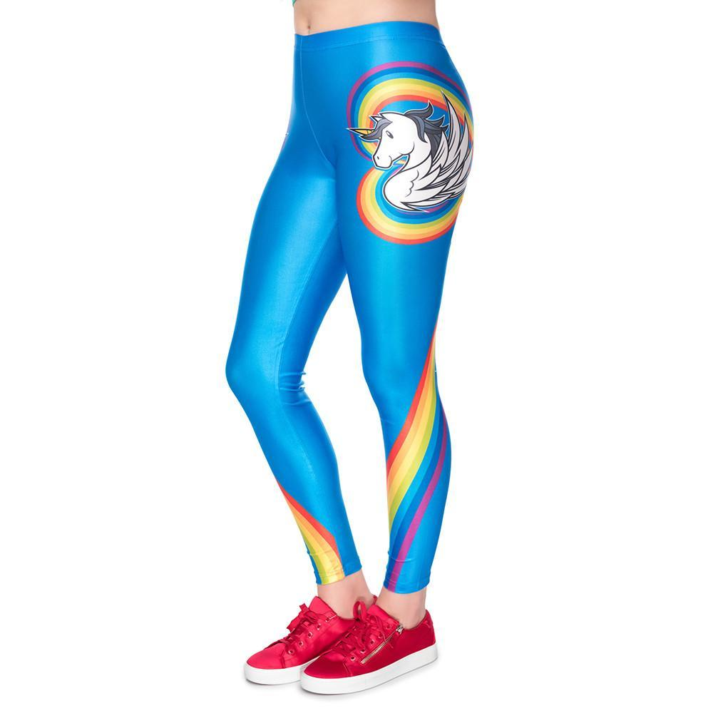 bda2bcc845 Unicorn Party Fitness Leggings – UnicornsAreAwesome
