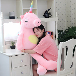 Giant Stuffed Unicorn - UnicornsAreAwesome