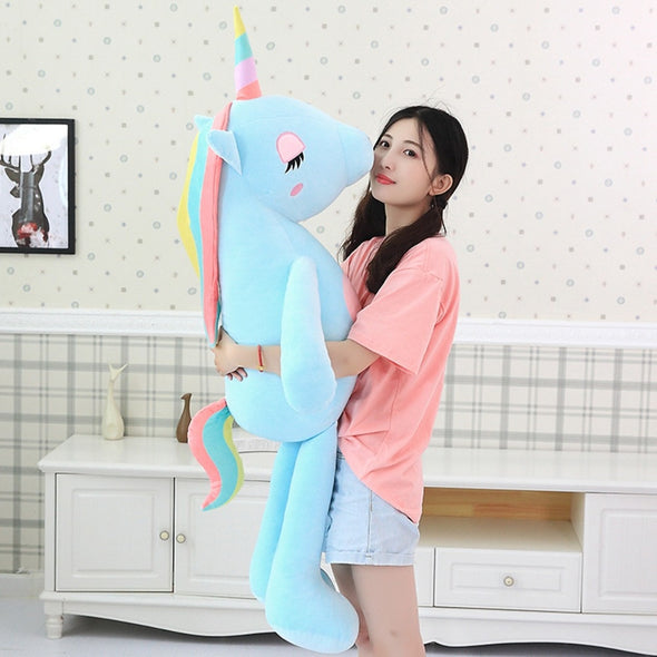 Giant Unicorn Plushy Friend - UnicornsAreAwesome