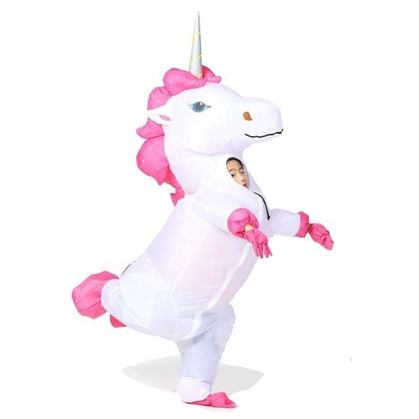 Inflatable Unicorn Costume for Kids - Best Unicorn Costume - UnicornsAreAwesome