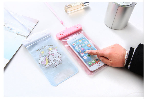 Unicorn Waterproof Pouch for Phones - UnicornsAreAwesome