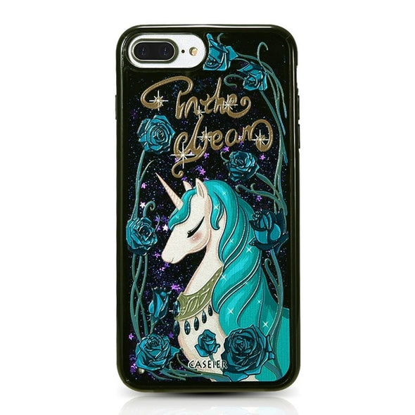 Liquid Glitter for iPhone - UnicornsAreAwesome
