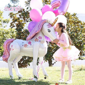 Large Blow-up Unicorn