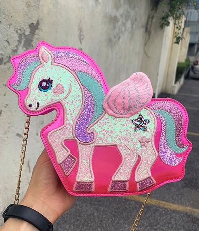 Mini Unicorn Shoulder Bag - UnicornsAreAwesome