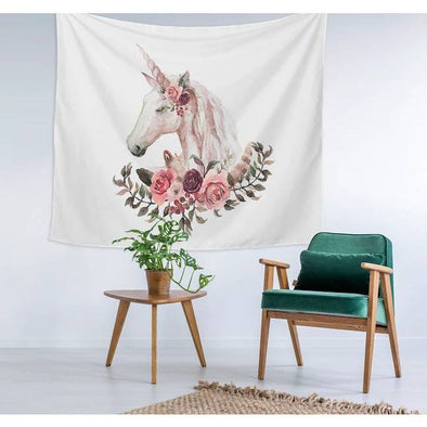 Unicorn Wall Tapestry - UnicornsAreAwesome