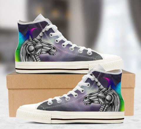 Robot Unicorn - Men's White