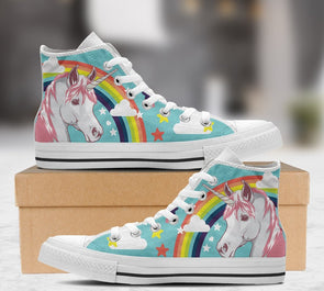 Unicorn - Men's White - UnicornsAreAwesome