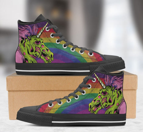 Zombie Unicorn - Womens Black