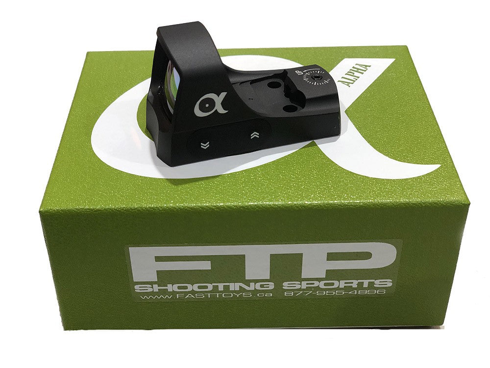 Introducing the FTP Alpha 3 Red Dot