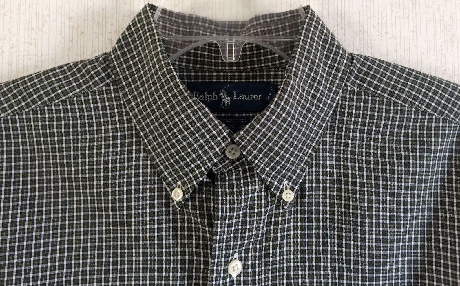 Ralph Lauren Polo Yarmouth Dress Shirt Cimarrons Closet Boutique