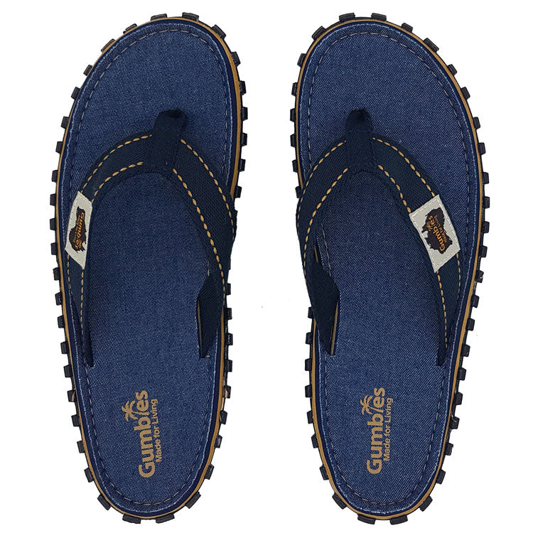 Gumbies Islander Flip Flop Denim
