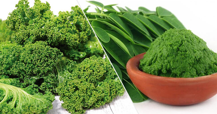 Moringa vs. Kale - Which Superfood is Better?