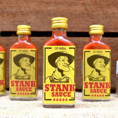 Introducing Stank Hot Sauce by Ol Yella's