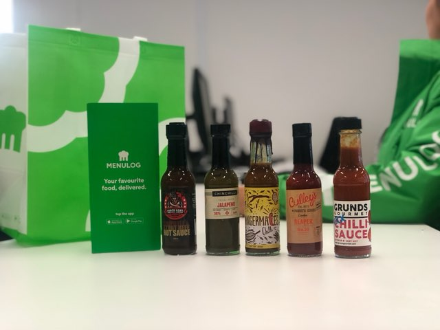 Menulog hot sauce competition