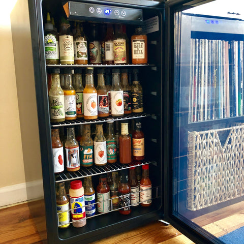 Hot Sauce Mini Bar Fridge