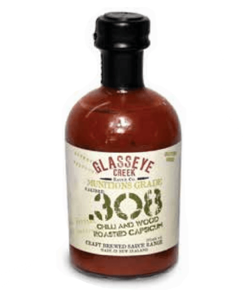 .308CAL Chilli & Wood Roasted Capsicum Sauce by Glasseye Creek