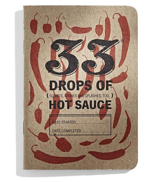 '33 Drops of Hot Sauce' Tasting Journal by House of Scoville Hot Chilli Sauces - House of Scoville