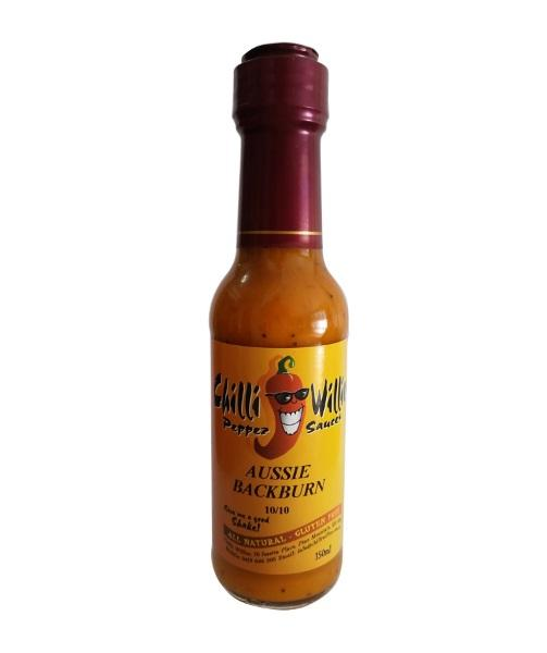 Aussie Back Burn by Chilli Willies Pepper Sauces - House of Scoville