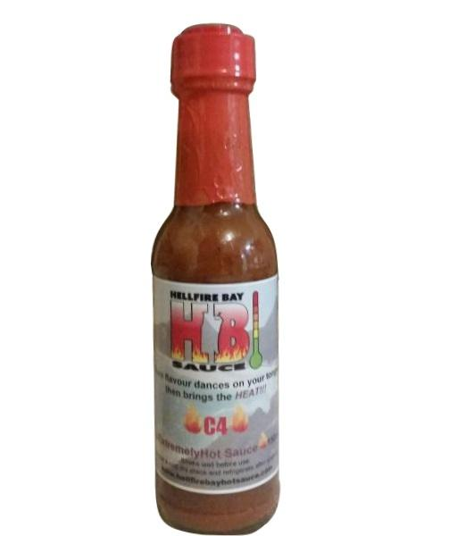 C4 by Hellfire Bay Hot Sauce - House of Scoville