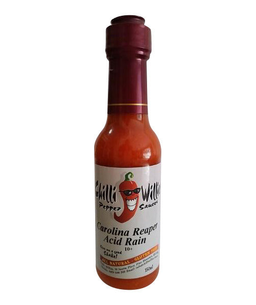 Carolina Reaper Acid Rain by Chilli Willies Pepper Sauces