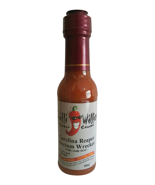 Carolina Reaper Rectum Wrecker by Chilli Willies Pepper Sauces