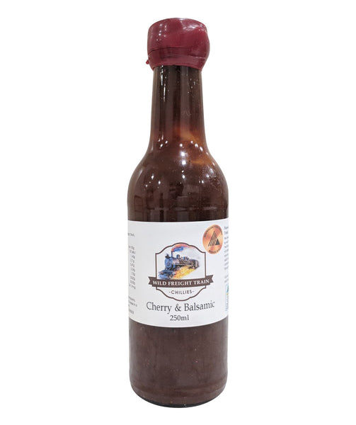Cherry & Balsamic Hot Sauce by Wild Freight Train Chillies