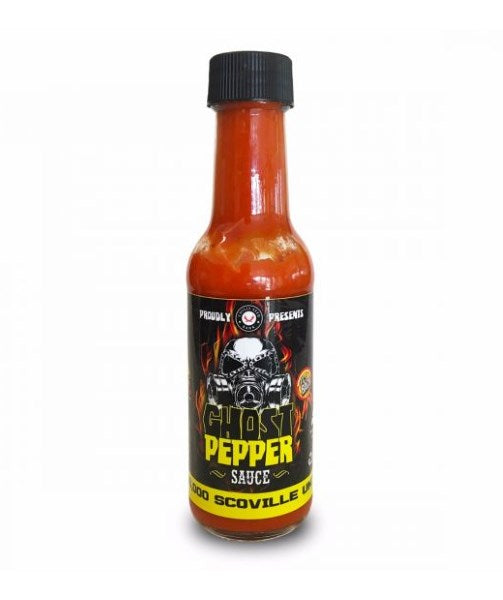 Chilliman's Ghost Pepper Sauce by Chilli Seed bank