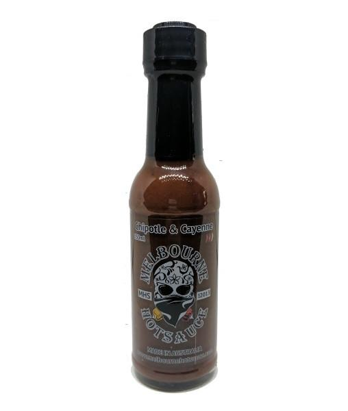 Chipotle & Cayenne Hot Sauce by Melbourne Hot Sauce - House of Scoville