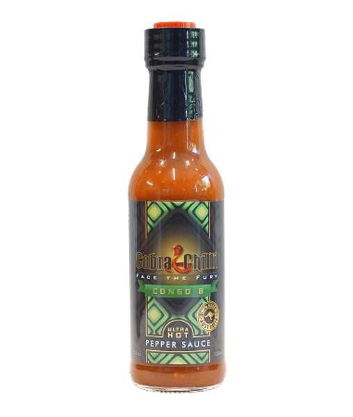 Congo B Pepper Sauce by Cobra Chilli - House of Scoville