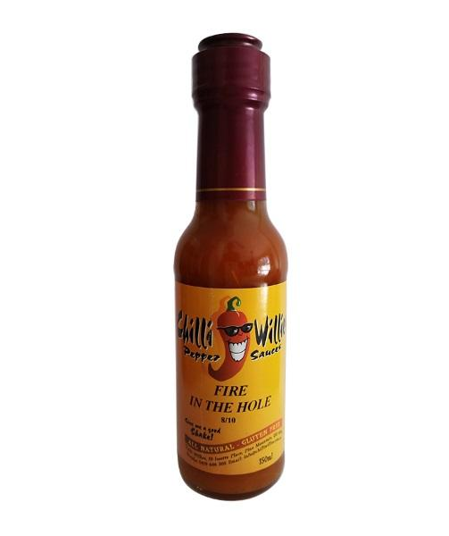 Fire in the Hole by Chilli Willies Pepper Sauces - House of Scoville