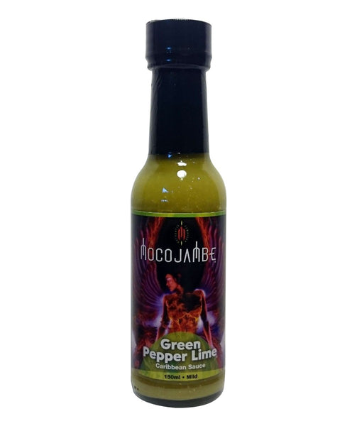 Green Pepper Lime Hot Sauce by Mocojambe - House of Scoville