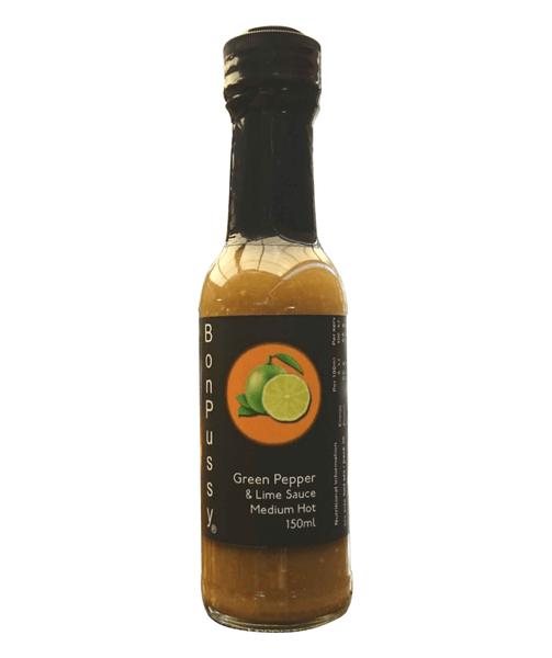 Green Pepper Lime Sauce by BonPussy